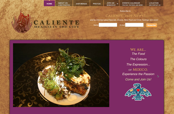 caliente-mexican-restaurant-wellington-website