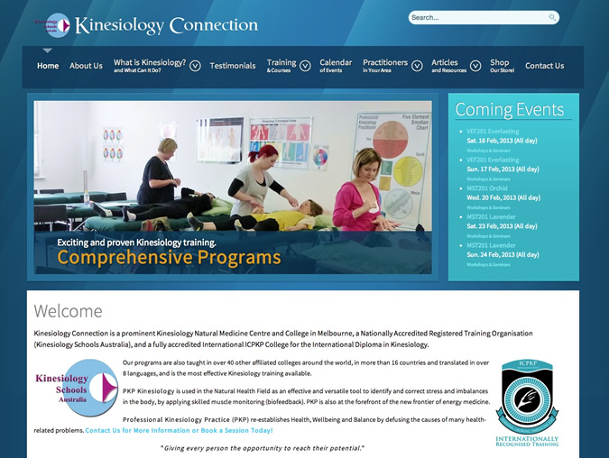 kinesiology connection website
