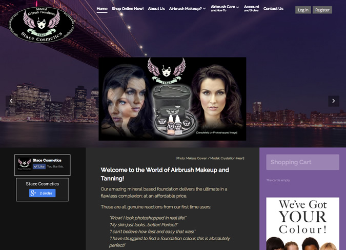 stace-cosmetics-website-wellington