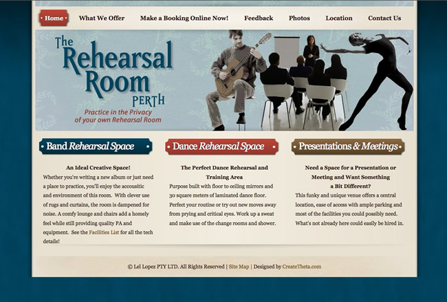 The Rehearsal Room - www.therehearsalroom.com.au